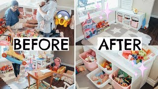 *EPIC TOY DECLUTTER* | TOY ORGANIZATION IDEAS FOR KIDS