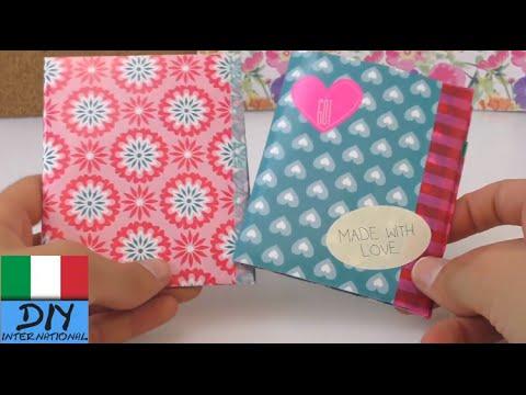Portafoglio fatto di carta / Portafoglio fai da te / DIY - portafoglio di carta compatto e facile