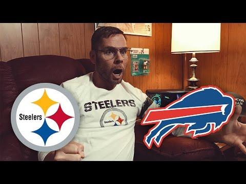 Dad Reacts to Steelers vs Bills (Week 14)