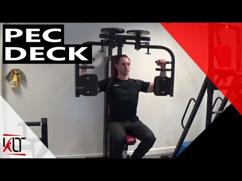 How to use the pec deck resistance machine