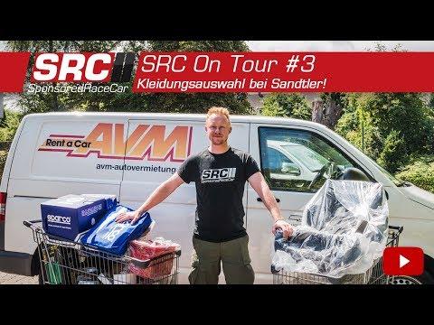 SponsoredRaceCar - Kleidungsauswahl bei Sandtler!   SRC On Tour #3