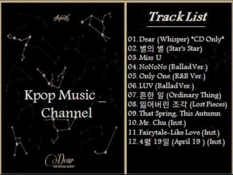 [FULL Album] 에이핑크 (Apink) – Dear [The Special Album]