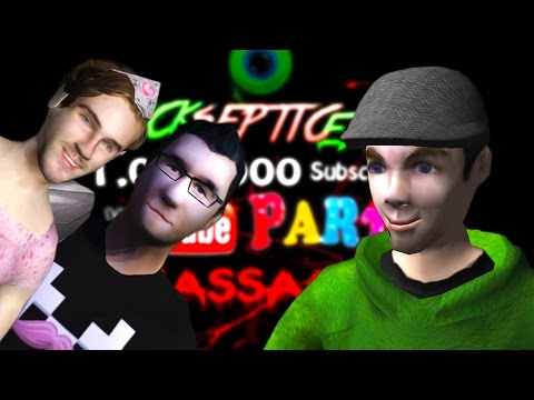 FAN MADE GAME | Jacksepticeye 1 Million Subscriber Youtube Party Massacre
