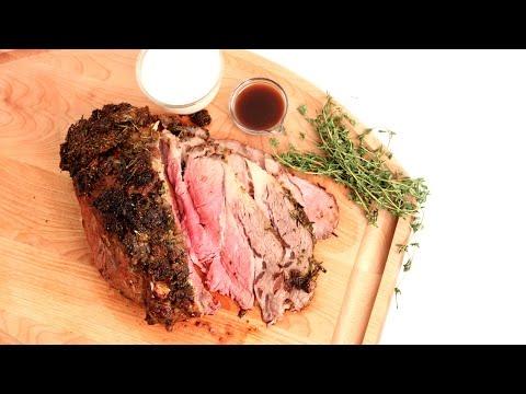 Roasted Prime Rib Recipe – Laura Vitale – Laura in the Kitchen Episode 855