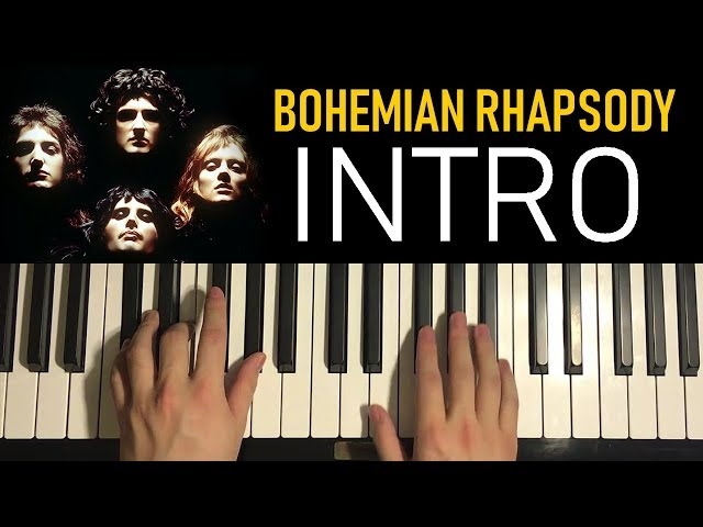 HOW TO PLAY - Bohemian Rhapsody - by Queen (Piano Tutorial Lesson) [PART 1]