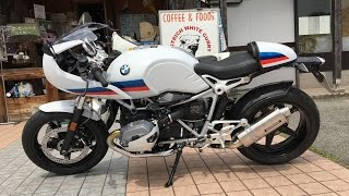 YOSHIMURAサウンドを聞け 2017 BMW R NineT 2017 BMW R Nine T Racer カフェレーサー BMW Motorrad Japan