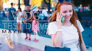 VLOG   TEST DRIVE MAYBELLINE SUPERSTAY   MAKEUPKATY