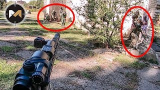 5 ФРАГОВ ЗА 10 СЕКУНД. СТРАЙКБОЛ // AIRSOFT GAMEPLAY