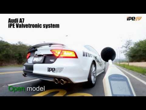 The iPE exhaust for Audi A7/ A6 C7