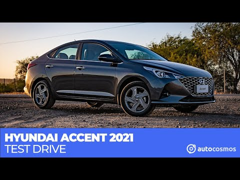 Test drive Hyundai Accent 2021