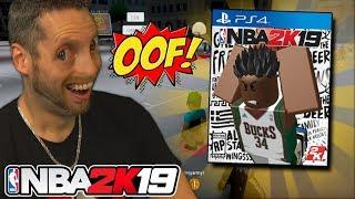 Playing Roblox NBA 2K19! Roblox Basketball is LIT!