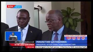 Rais wa Tanzania-John Pombe Magufuli awaruhusu madkatari wake kutafuta mkate wao wa kila siku nchini
