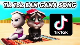 Tik Tok Ban Gana Song / Animated Folk Song   - YouTube