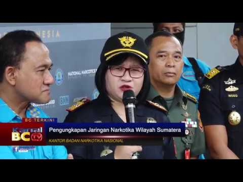 Pengungkapan Jaringan Narkotika Wilayah Sumatera