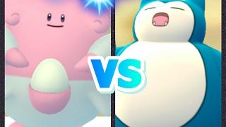 Crobat  - (Pokémon) - Pokémon GO Gym battle Blissey & Crobat Vs Snorlax test