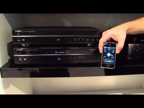 Yamaha - Blu-Ray Player BD-A1010, BD-S671 (German) - IFA 2011