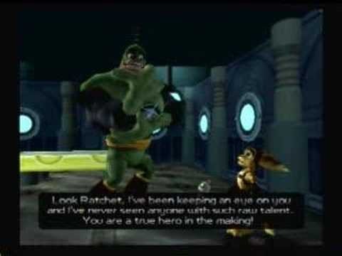 Ratchet And Clank Walkthrough Part 14 The Hoverboard Race By