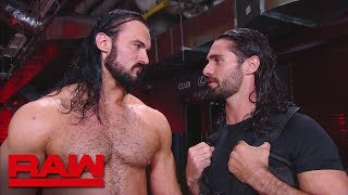 Seth Rollins claims that Dolph Ziggler is using Drew McIntyre: Raw, Sept. 24, 2018 - Video Youtube