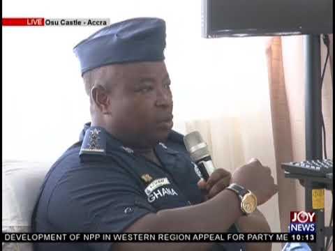 A.W.W Violence: SWAT Unit Commander At National Security Gives Testimony - JoyNews (18-2-19)
