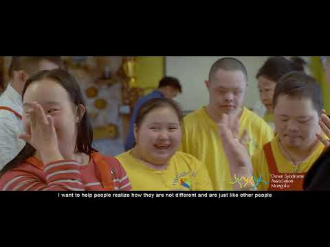 Veure vídeo WORLD DOWN SYNDROME DAY 2019 - Down Syndrome Association Mongolia, Mongolia - #LeaveNoOneBehind