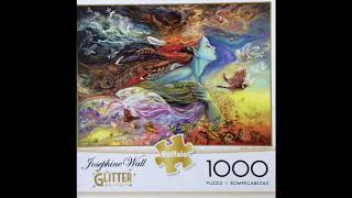 Puzzle Buffalo Spirit Of Flight By Josephine Wall 1000 Pieces