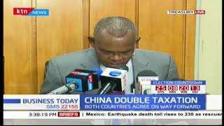 Finance CS Henry Rotich signs new deal with China concerning double taxation