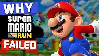 WHY Super Mario Run FAILED!