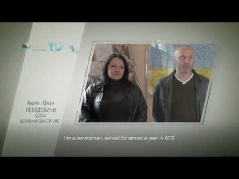 Video feedback of Andriy Lebedovich and Olena Lebedovich, graduates of the Ukraine-Norway project