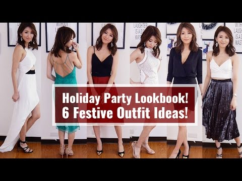 Holiday Party Lookbook! 6 Festive Outfit Ideas!