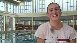 2020 wordt een spannend jaar voor het Rotterdamse waterpolo-talent Anne de Kleer