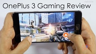 OnePlus 3 Gaming Review with Heavy Games & Temp Check