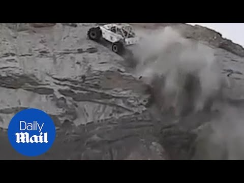 Incredible Moment Buggy Vertically Scales UP A Cliff!