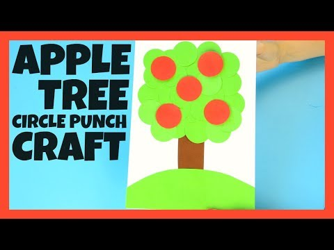 Apple Tree Paper Craft for Kids