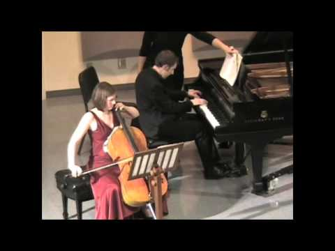 An older performance with my wife, the cellist Rebeccah Parker Downs