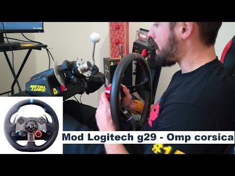 G29 - CUSTOM WHEEL MOD   HOW TO INSTALL   LOGITECH UPGRADE