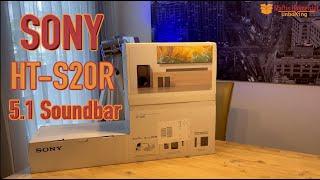 Sony HT-S20R - Kurztest über die preiswerte und geniale 5.1 Soundbar (4K)