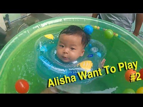 #AlishaWantToPlay - #2 | Alisha Belajar Berenang