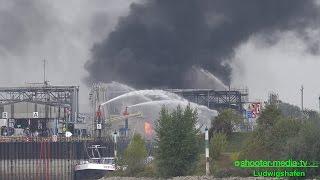 [EXPLOSION BEI BASF] - Großbrand mit Toten & Schwerverletzten - Großeinsatz in Ludwigshafen | [E]