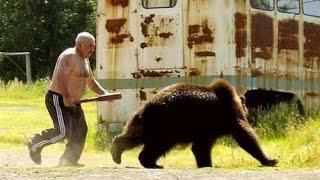 Смотреть онлайн Подборка: Люди и медведи
