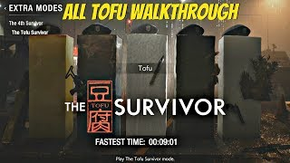 Resident Evil 2 Remake - All Tofu Characters Survivor Mode Gameplay Walkthrough (PS4 Pro)