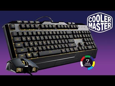 ⌨️ Devastuj! Set klávesnice a myši pod litr od Cooler Masteru. Unboxing a recenze.