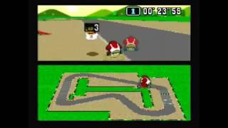 "Super Mario Kart Time Trial NTSC Mario Circuit 1 5-lap:  0'55""97* by Sami Cetin"