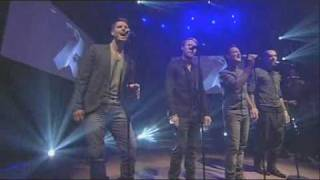 Boyzone GMTV Gave It All Away First Performance 18th Feb 2010