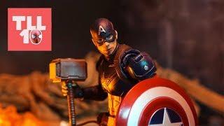 Endgame: Captain America Vs Thanos Scene Stop Motion Recreation