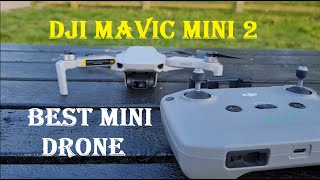 New DJi Mavic Mini 2 Flight Test & Full HD Video Review Strong Wind Test @ Sharpenhoe United Kingdom