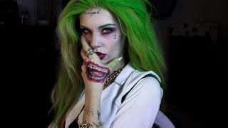 GRWM Genderbent Joker Tutorial - Suicide Squad Version