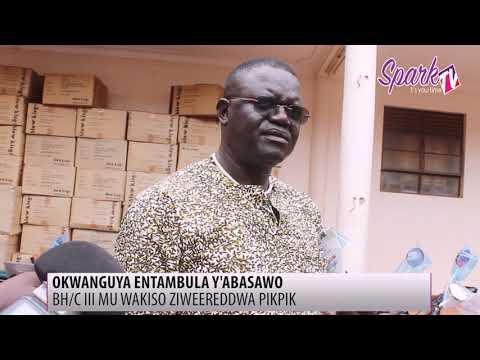 Abasawo e Wakiso baweereddwa pikipiki zibayambeko mu kukola emirimu gyabwe