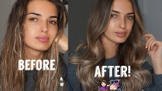 HOW TO CURL YOUR  HAIR - SOFT WAVES!