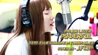 Gambar cover Major Lazer - Powerful (feat  Ellie Goulding & Tarrus Riley)( cover by J.Fla )