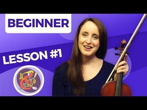 Irish Fiddle Lesson #1 - [The Basics] Start Here
